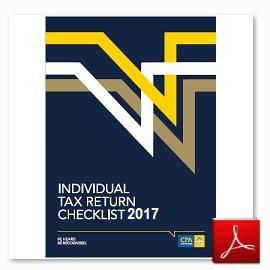 IndividualTaxReturnChecklist2017